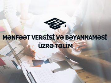 Mənfəət Vergisi Bəyannaməsi, təlim,