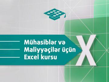 Maliyyəçilər, mühasiblər, Excel Kursu,